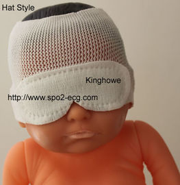 China Hat Style Neonatal Phototherapy Eye Mask Resist Blu Light OEM ODM Service supplier