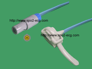 China Profesiional Compatible Finger Clip Sensor Redel 6 Pin For Medical Monitor supplier
