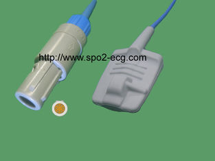 China GoldWay Adult Finger Clip Oxygen Sensor Redel 7 / 5 Pin 3.0 Meter Length supplier