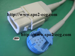 China Hospital DB 9 Pin Extension Cable For GE Ohmeda Sensor 12 Months Warranty supplier