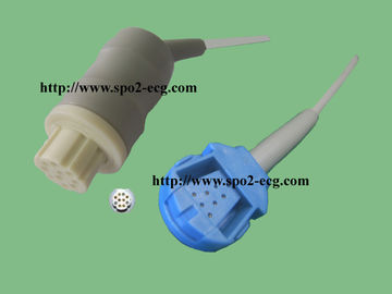 China High Performance Datex Spo2 Cable DPK1 10 Pin Connector For Hodpital supplier