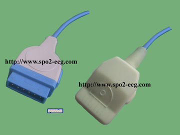 China GE- Marquette SPO2 Extension Cable Rectangular 11 Pin 12 Months Warranty supplier