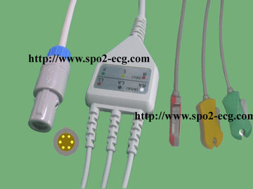 China CE Listed General BPM ECG Cables And Leadwires For BCI , Datascope supplier