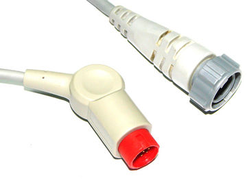 China Philips / HP Edwards IBP Cable , Invasive Blood Pressure Cable 6 Pin supplier