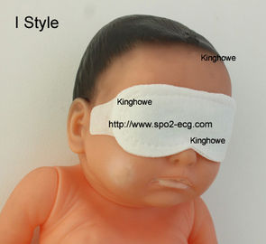 I Style Neonatal Phototherapy Eye Mask Size Custom Blue And White Color