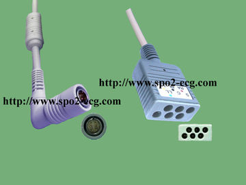 China Colin 5 Lead ECG Cable BP88 / BP306 , ECG Trunk Cable CE Standard factory