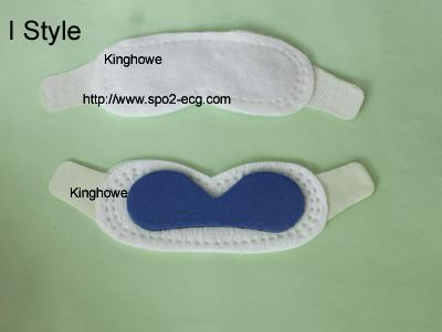 Non Woven Fabric Neonatal Phototherapy Eye Mask I Style For Newborn Baby