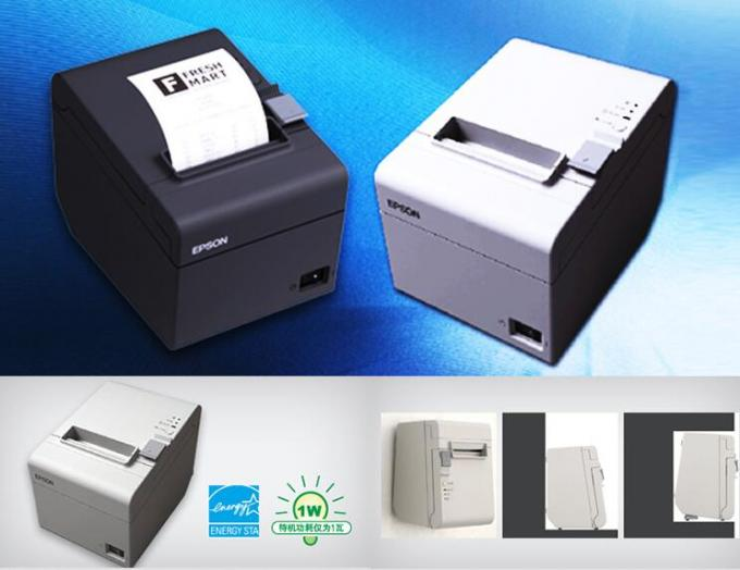 2 Inch Auto Cutter Thermal Receipt Printer / White Wireless Thermal Label Printer